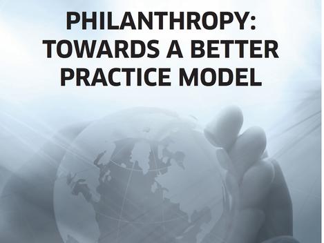 Report: Philanthropy - Towards a Better Practice Model