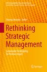 Rethinking Strategic Management cover