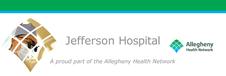 AHN Jefferson Hospital Front Door