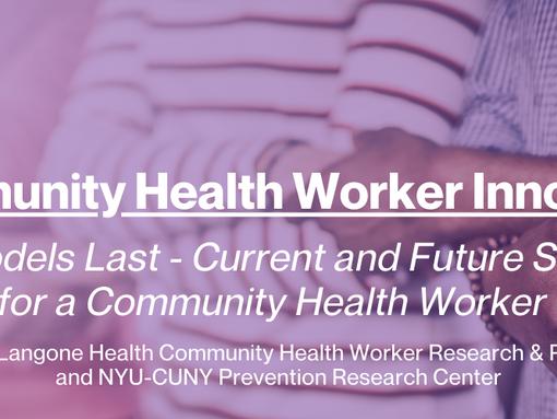 1st Annual Community Health Worker Innovations Summit :: Nov 11-12, 2020
