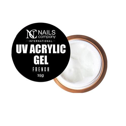UV Acrylic Gel French (blanc)