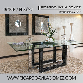RICARDO AVILA GÓMEZ NUEVA COLECCIÓN ROBLE/FUSIÓN