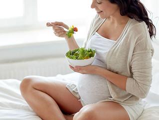Recomendações alimentares durante a gravidez