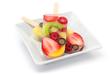 Receita de picolé de salada de frutas para o verão