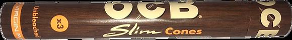 Cajita Conos OCB Slim Virgin c/12 estuches
