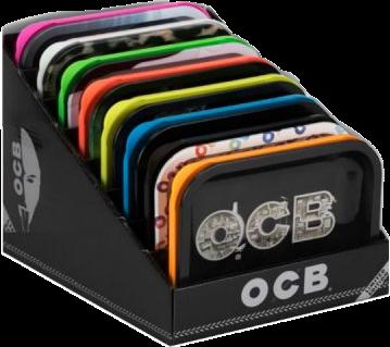 Exhibidor Charolas OCB c/8 charolas
