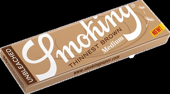 Cajita Smoking Thinnest Brown c/25 libritos