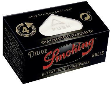 Cajita Smoking Deluxe Rolls c/24 rollos