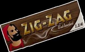 Cajita Zig-Zag Unbleached 1¼ c/100 libritos