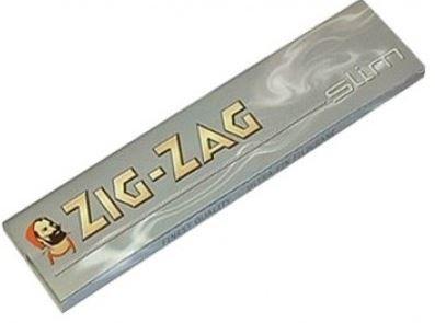 Cajita Zig-Zag Slim Silver c/50 libritos