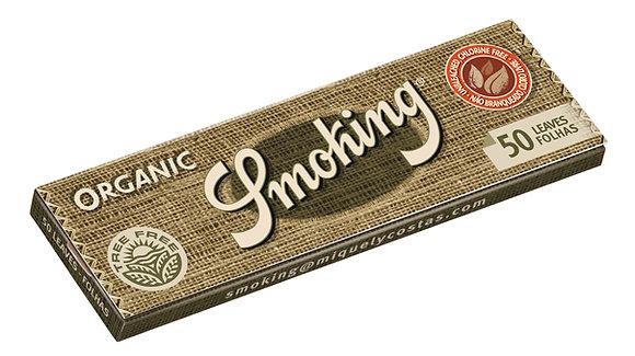 Cajita Smoking Orgánico c/25 libritos