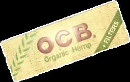 Cajita OCB Orgánico + Filtros c/24 libritos