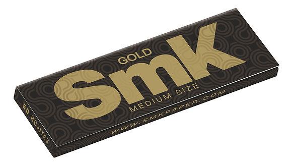 Cajita SmK Gold de Smoking c/50 libritos