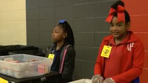 """Helping Hands Ending Hunger"" program helps kids in need"