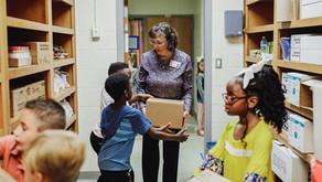 East Central Receives Food Donation for School Based Feeding Program