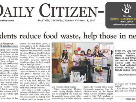 Students reduce food waste, help those in need