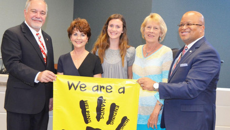 Superintendent recognizes accomplishments of Helping Hands in Dougherty County