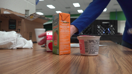 Forsyth County elementary school becomes the first in the county to recycle unused food