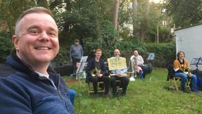 Lydney Band showcase musical lockdown activities