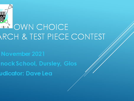 COMING SOON: GBBA March & Test Piece Contest 2021