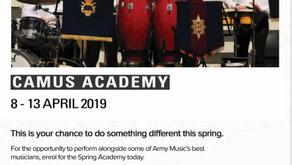 CAMUS Academy: Spring 2019