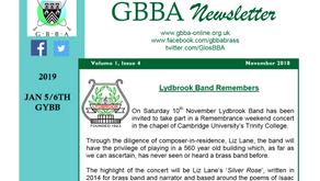 GBBA Newsletter: Volume 1, Issue 4
