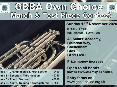 GBBA increase prize money for 2020 contest