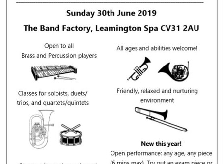 City of Coventry & Warwickshire Brass Festival 2019