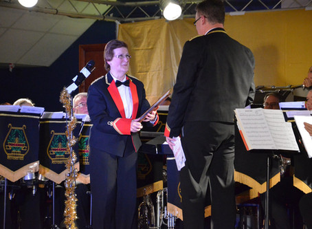 Double Awards At Lydbrook Band Christmas Concert