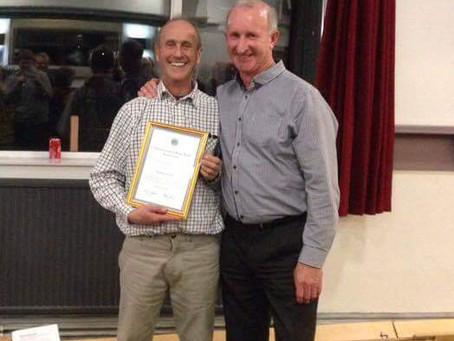 Kevin Ford receives 50 year service award