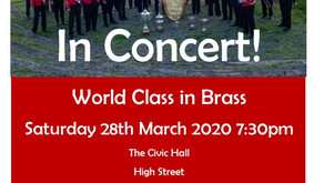 CONCERT POSTPONED -- World Class in Brass - Cory Band do charity concert for Myton Hospice