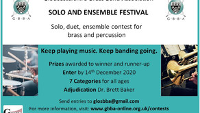 GBBA opens Virtual Festival contest to all brass and percussion players