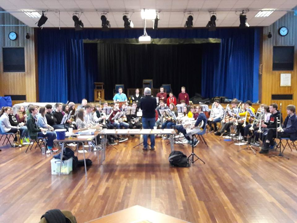 The Gloucestershire Youth Brass Band (GYBB) course and GBBA Youth Development Day
