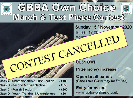 CANCELLED: GBBA Contest 2020
