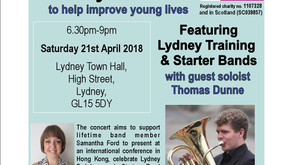 Lydney Training Band & CLiC Sargent Fundraising Charity Concert
