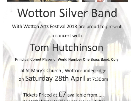 Wotton Silver Band Concert with Soloist Tom Hutchinson