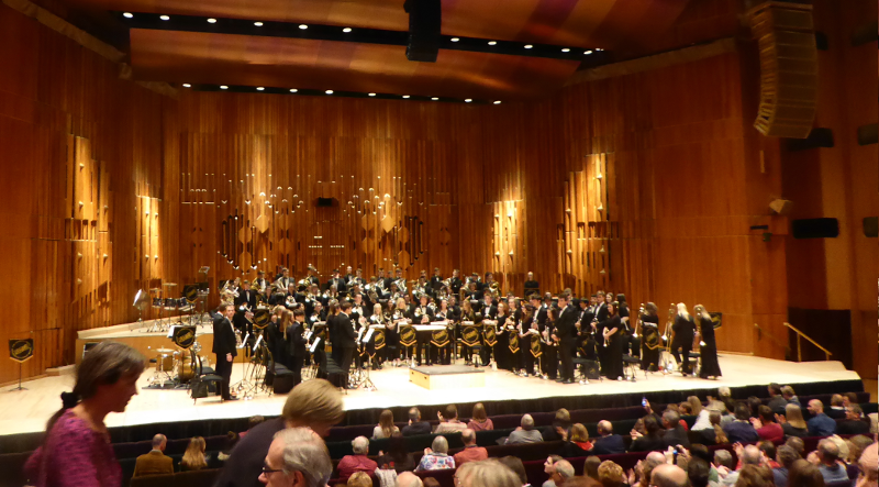 NYBB on stage at the Barbican London.