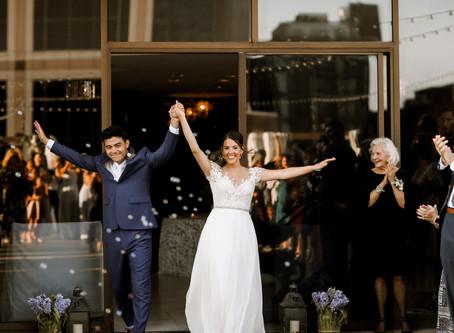 Regions Tower Wedding McKenzie + Phillip Indianapolis Wedding Photographer