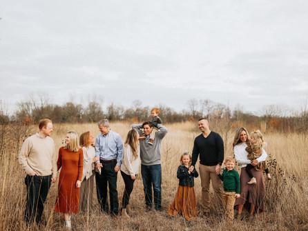 Extended Family Photography in Hamilton County Carmel Indiana