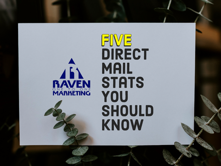 Five Direct Mail Stats You Should Know