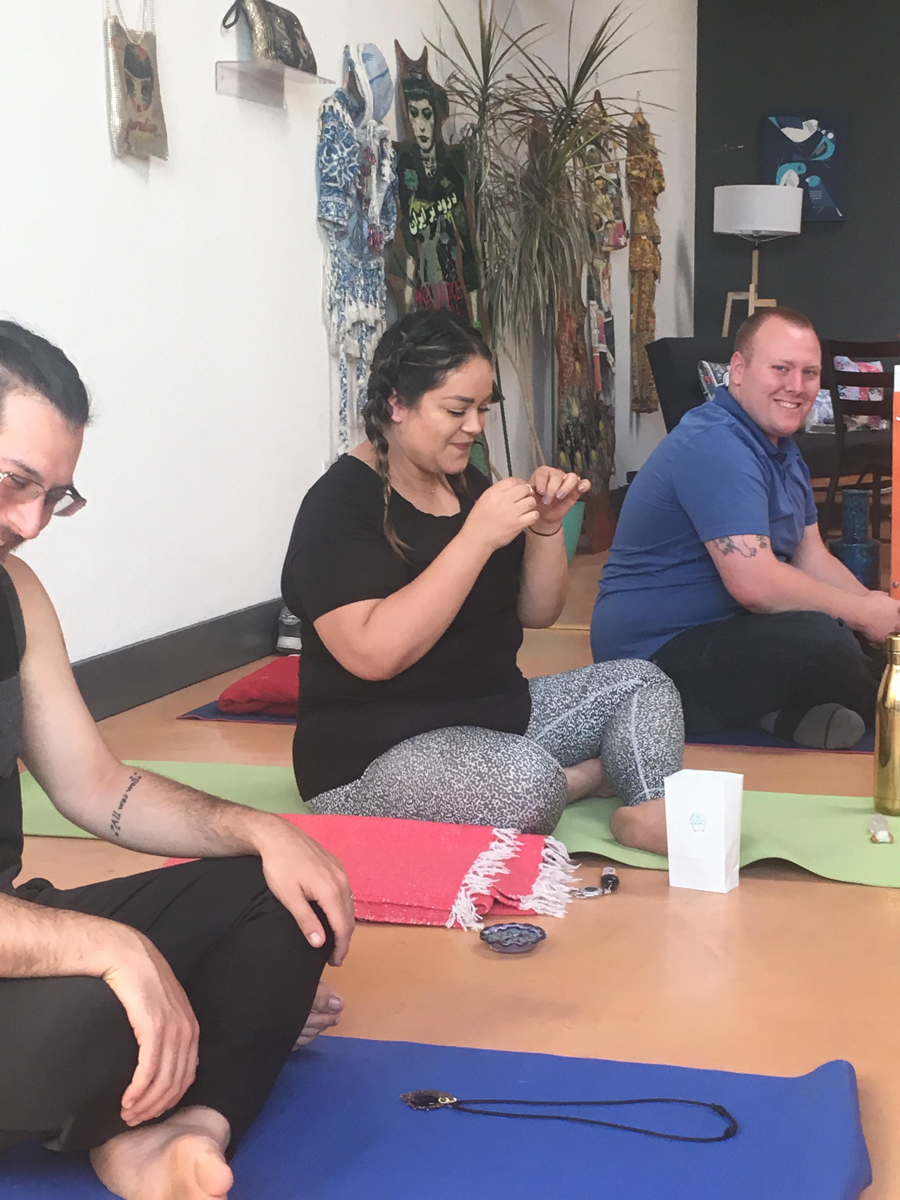 Ganja Yoga with Brittany