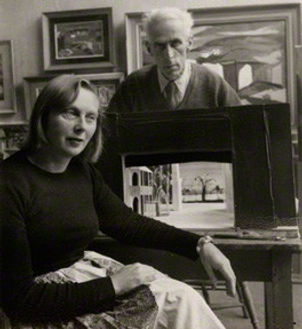 Myfanwy Piper and John Piper