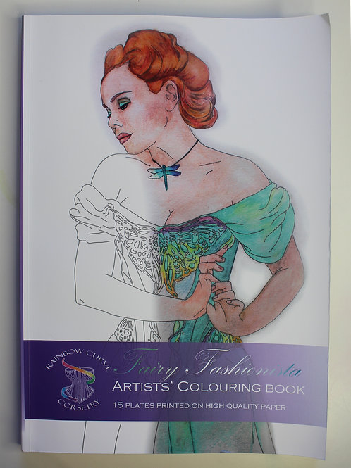 Fairy Fashionista Colouring book