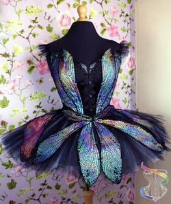 Dragonfly corset with pancake tutu ballet