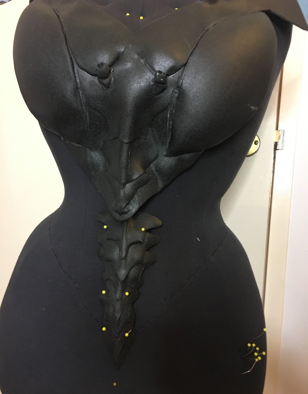 Worbla breastplate