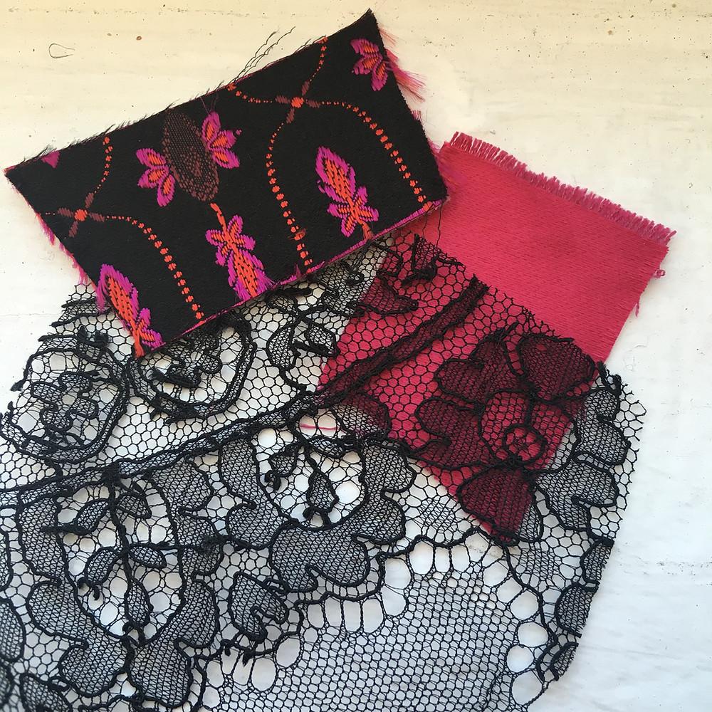Corsetry fabrics