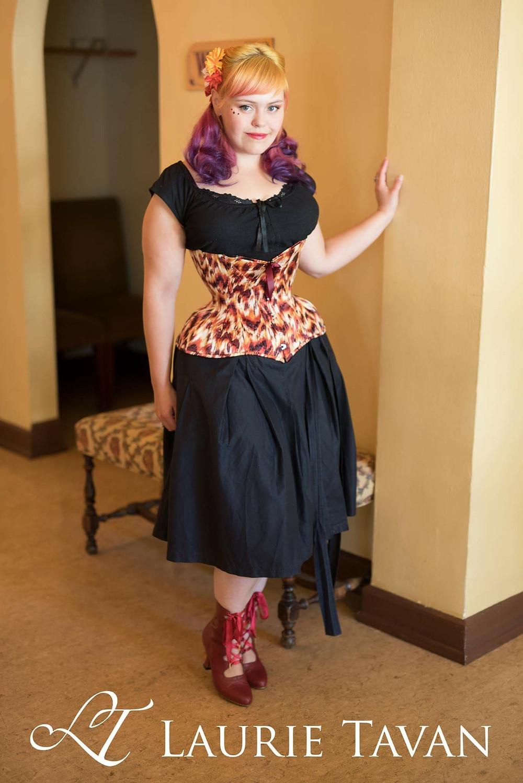 Little phoenix corset by Laurie Tavan