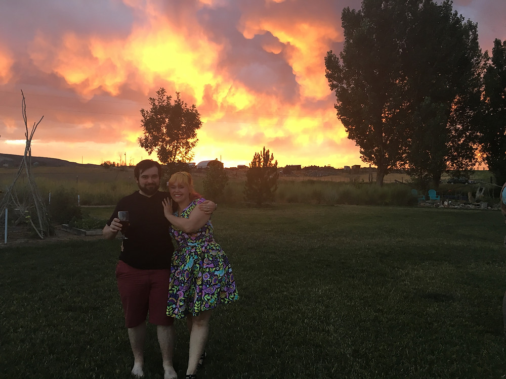 Loma Colorado sunset