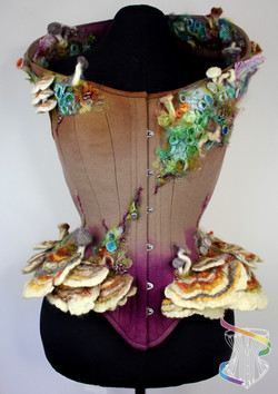 Beautiful Decay mushroom corset