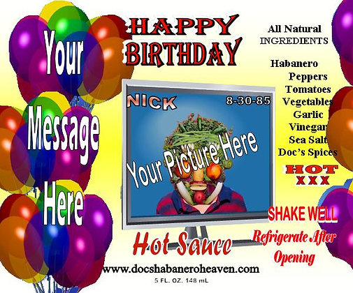 Happy Birthday (Sample NICK) #DHH-56 A; B